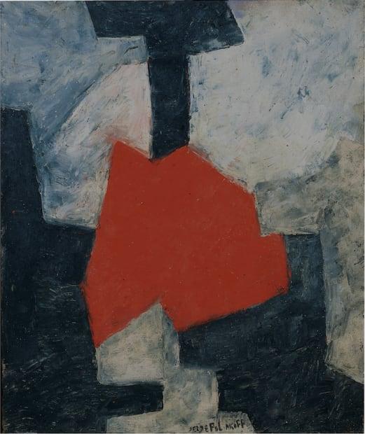 Serge Poliakoff, Composition abstraite , 1965