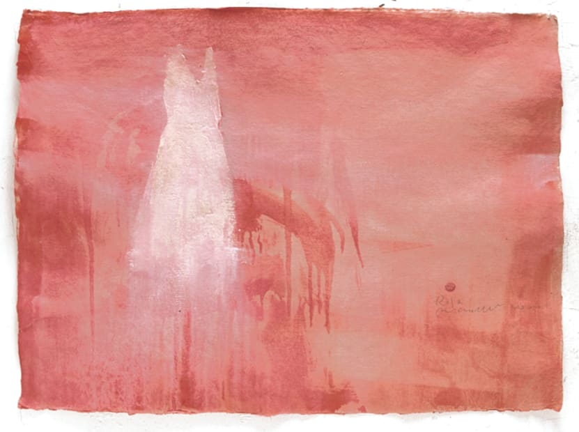 Piero Pizzi Cannella, Rosa, 2000