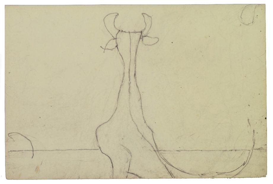 Osvaldo Licini, 14_174 Il capro, 1938-1939?