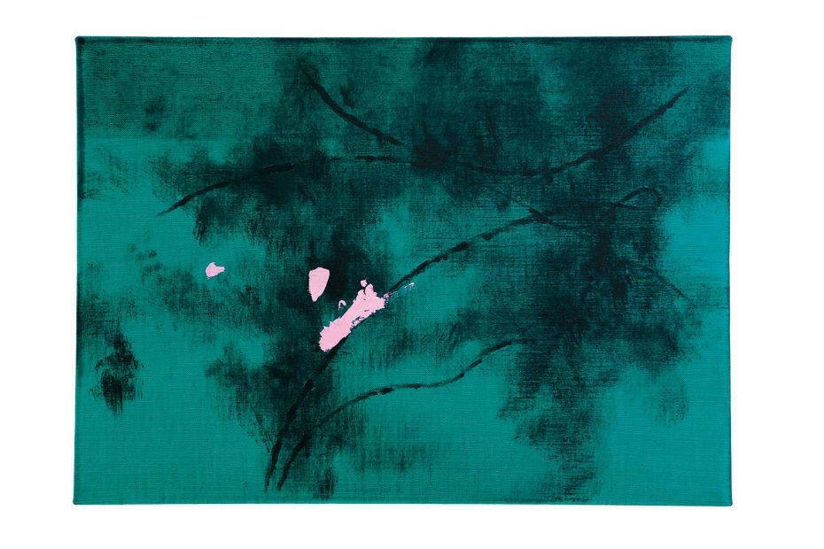 Koji Yamamoto, Vecchio Pino (verde), 2016