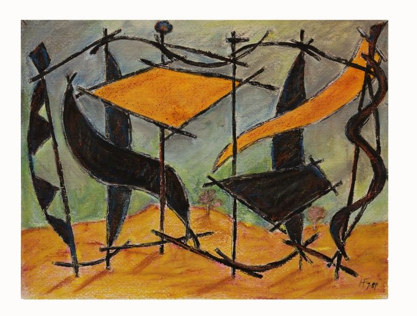 Herbert Ferber, Untitled, 1984