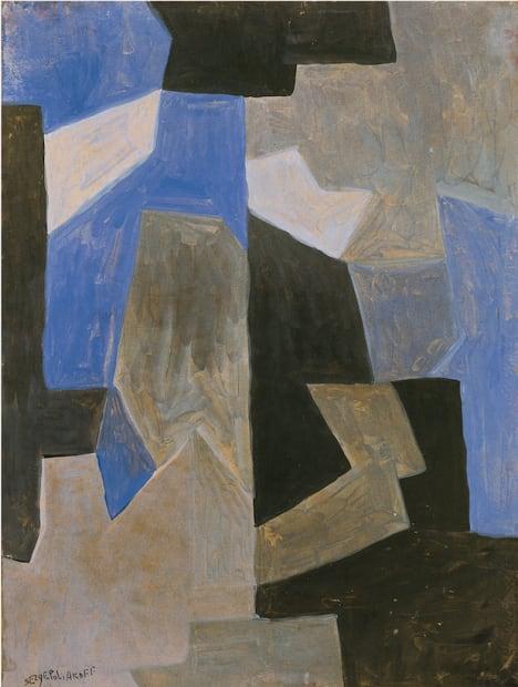 Serge Poliakoff, Composition abstraite, 1957