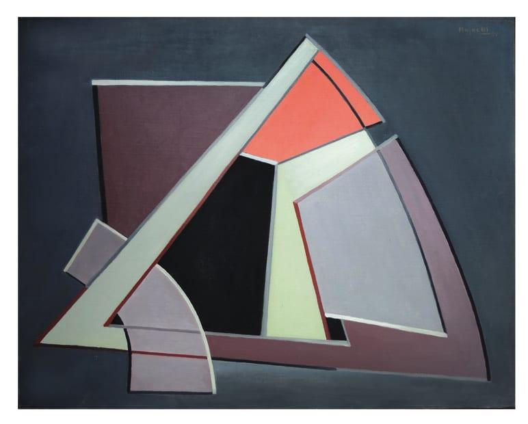 Alberto Magnelli, Raisonnement, 1951