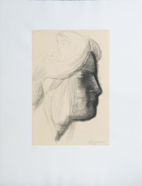 Emilio Greco, Omaggio a Michelangelo, 1975