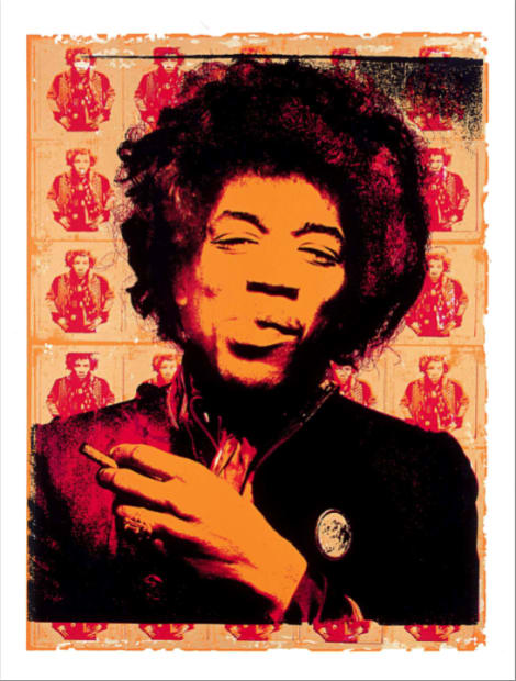 Gered Mankowitz, Jimi Hendrix Purple Haze