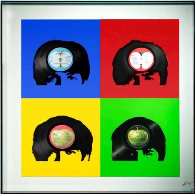 Keith Haynes, The Beatles - Fab Four primary colours