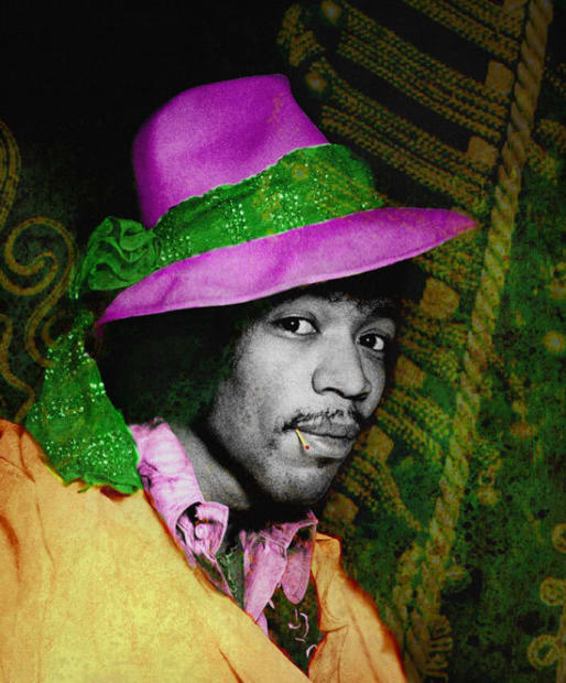 Gered Mankowitz, Jimi Hat