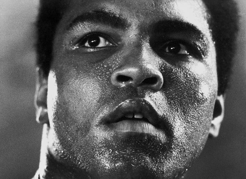 """Michael Brennan, Muhammad Ali """"1977"""""""