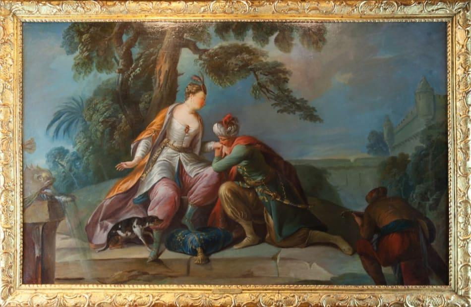 Francesco Zugno, The Amorous Sultan