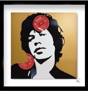 Keith Haynes, Rolling Stones - Mick