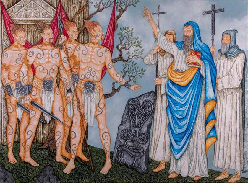 Joe Machine, Saint Columba and the Picts, 2020