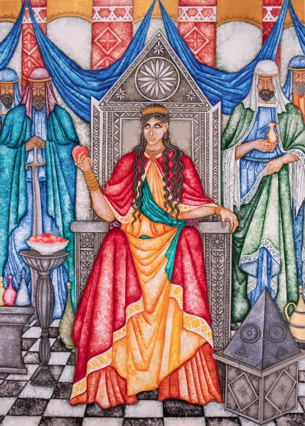 Joe Machine, The Queen of Sheba, 2021