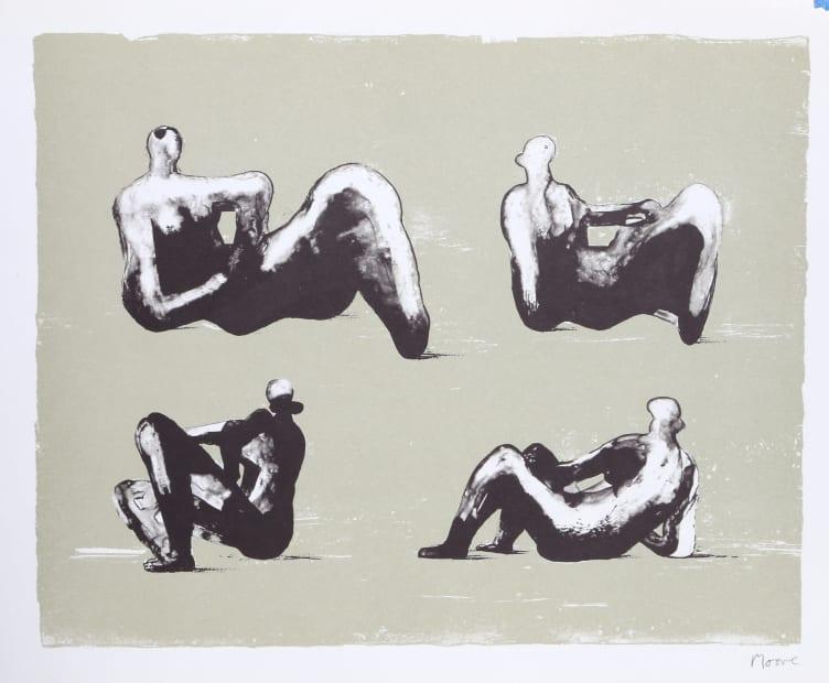 Henry Moore, Omaggio a Michelangelo, 1975