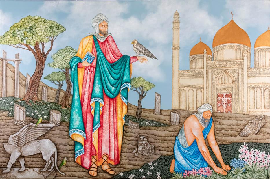 Joe Machine, The Pilgrimage of Ibn Battuta, 2021