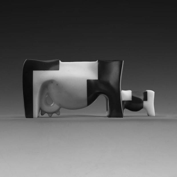 Alexey Kanis, Cow and Calf, 2017