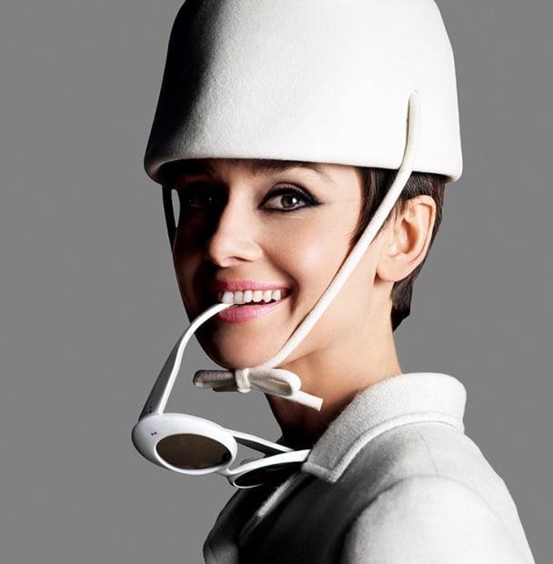 "Douglas Kirkland, Audrey Hepburn in a promotional shoot for ""How to Steal a Million"", Paris, 1965"