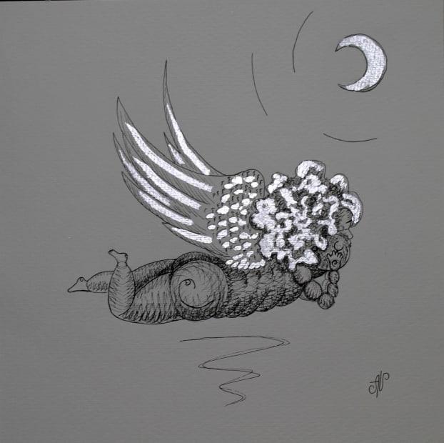 Alena Vavilina, Moon Collection having rest #4, 2018