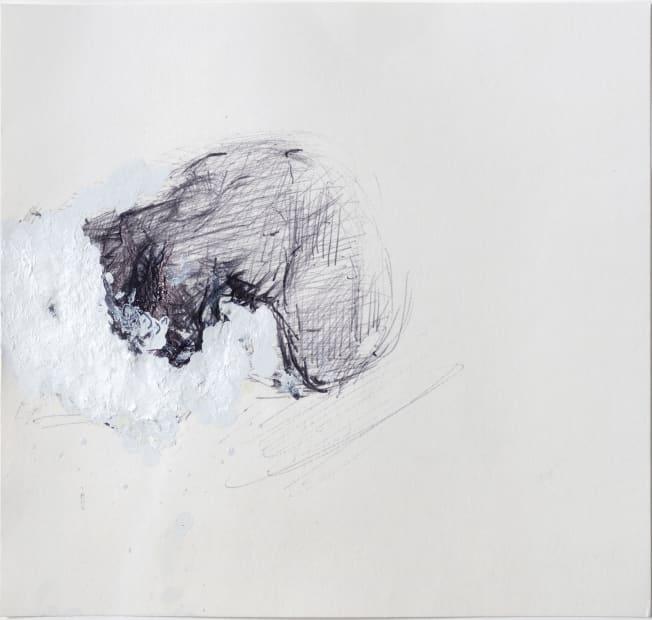 Stephen Finer, Kneeling naked woman, 2010