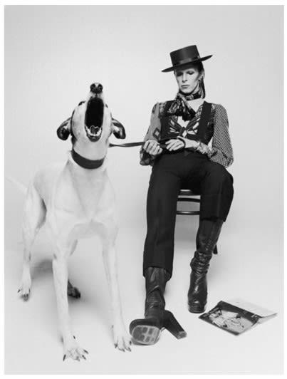 Terry O'Neill, David Bowie, Diamond Dogs (view 2), 1974