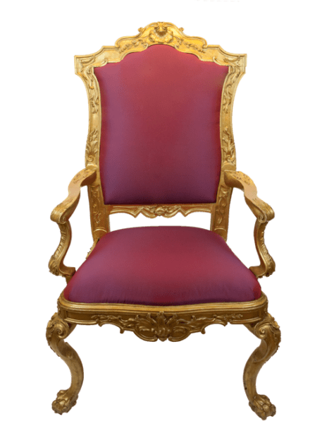 Italian School, Set of Four Armchairs