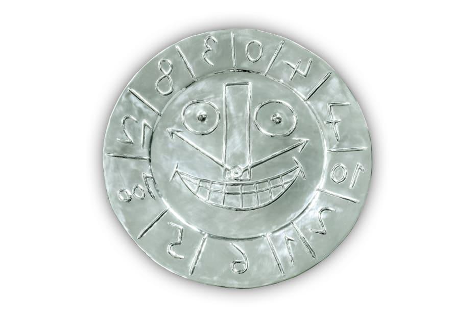 Pablo Picasso, Visage en Forme d'horloge