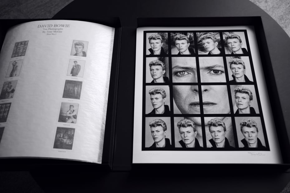 Tony McGee, David Bowie, Ten Photographs, 2019
