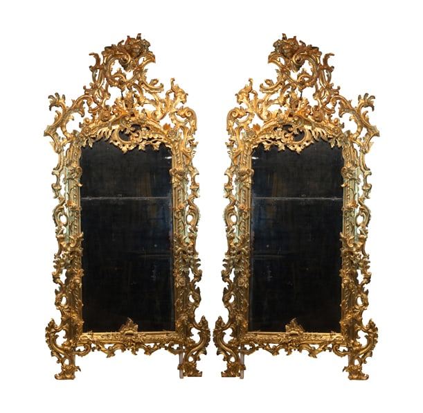 Italian School, Pair of Roman Mirrors