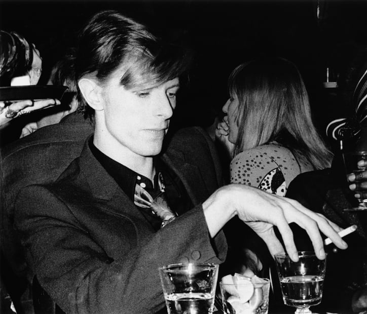 Ulvis Alberts, David Bowie, Los Angeles 1975