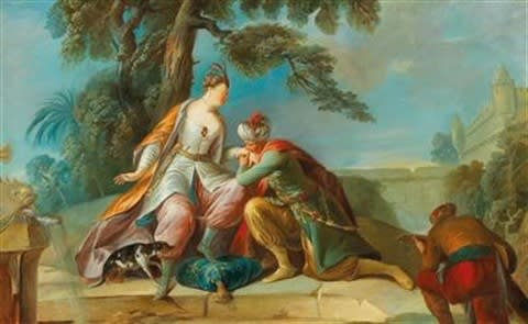 Francesco Zugno, The Amorous Sultan