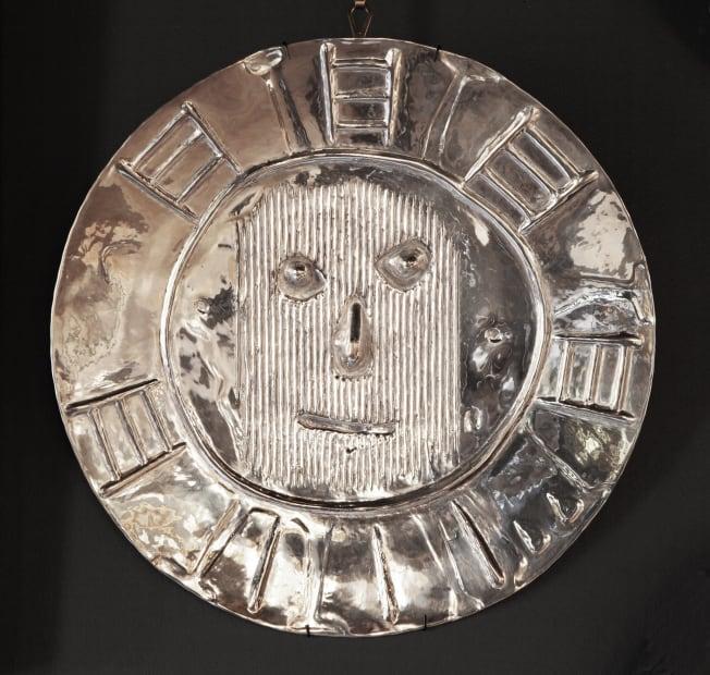 Pablo Picasso, Visage au carton ondulé (Ref: 1438)
