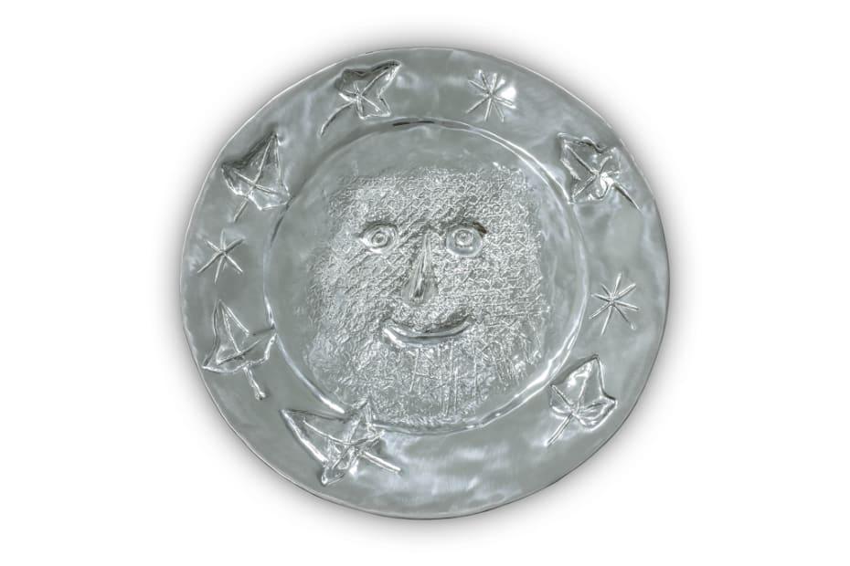 Pablo Picasso, Visage aux Feuilles