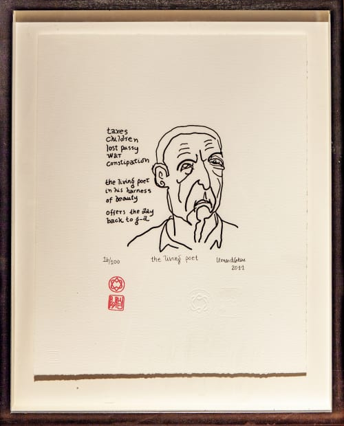 Leonard Cohen, The living poet , 2011