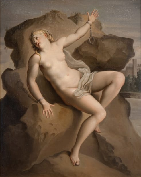 Italian School (19th Century), Andromeda Chained to the Rock