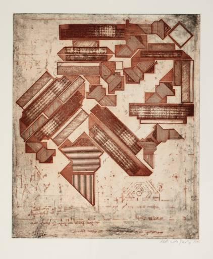 Eduardo Paolozzi, Omaggio a Michelangelo, 1975