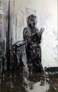Stephen Finer, Untitled (Standing woman), 1992