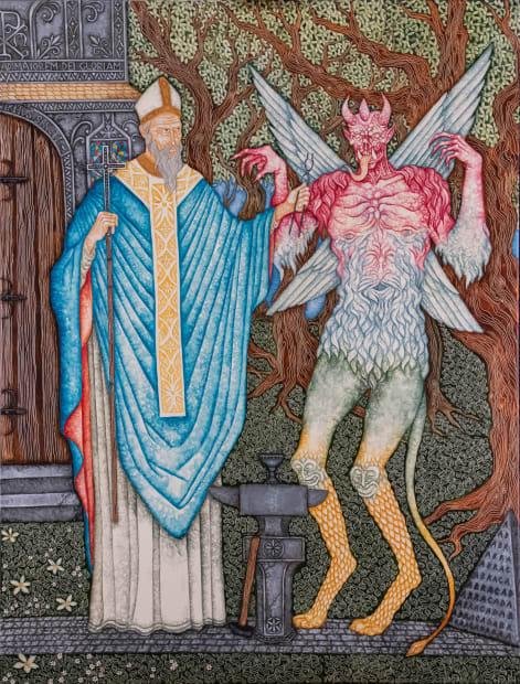 Joe Machine, Saint Dunstan & the Devil, 2020