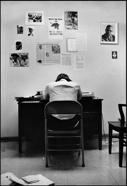 Stokely Carmichael in SNCC Office, Atlanta, Georgia, 1967