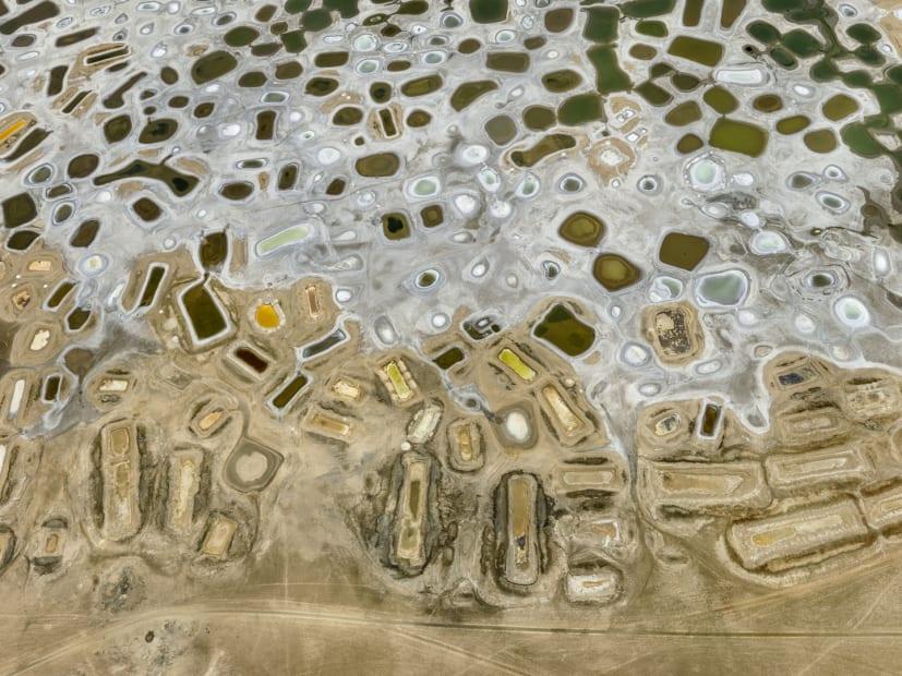 Salt Ponds #1, Near Fatik, Senegal, 2019