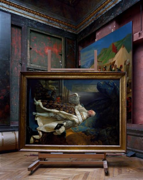 Salles d'Afrique, Portrait of Louis XVI by Callet #2, Chateau de Versailles, 2007