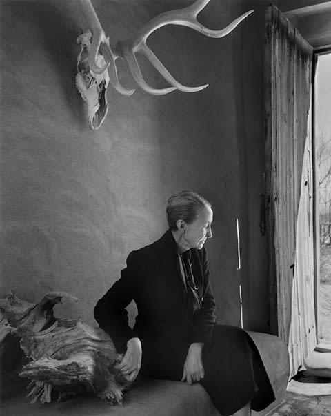 Georgia O'Keeffe, 1956