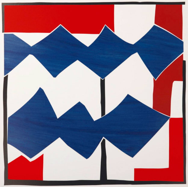 Sandra Blow RA, Double Diamond, 2003