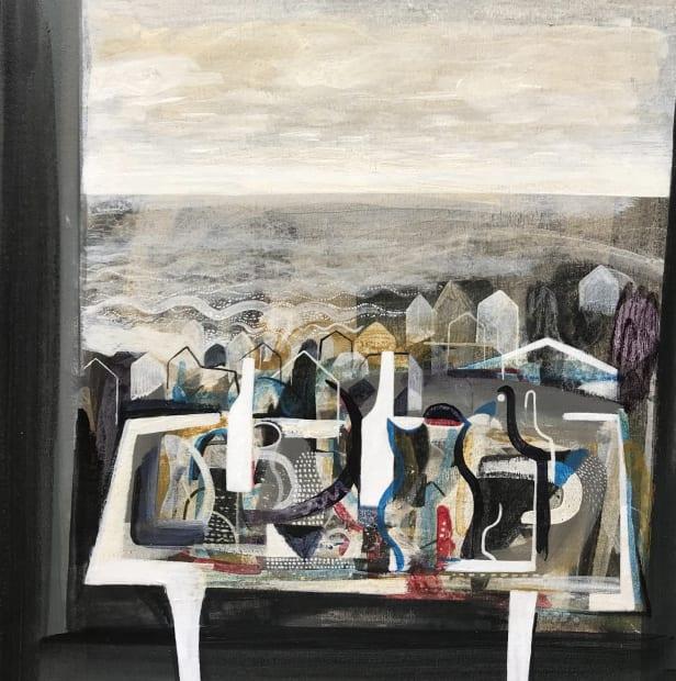 Trevor Price, Bottles, Pots and Dots, 2021