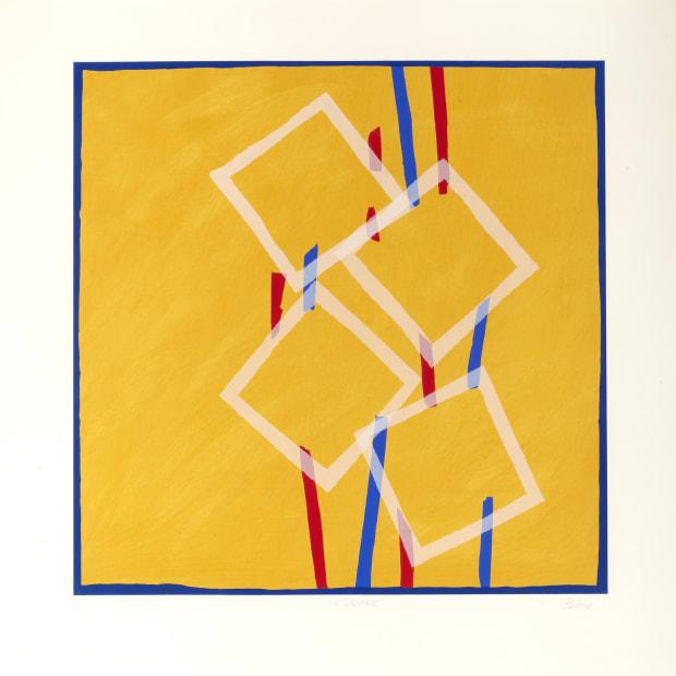 Sandra Blow RA, Four Square, 2005