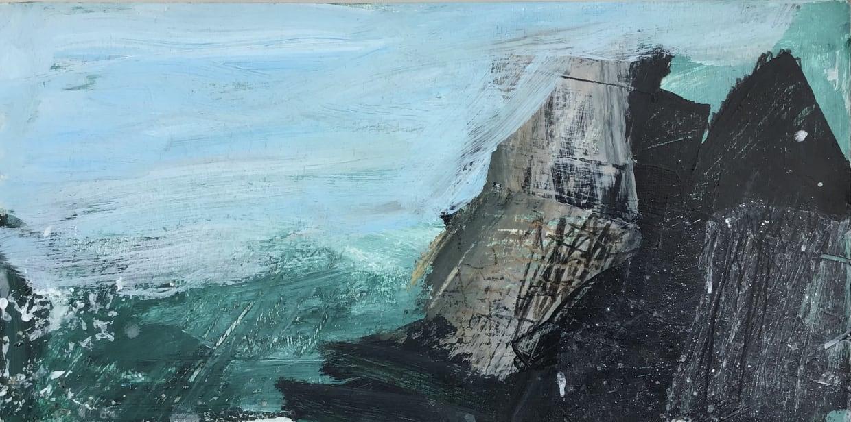 Craig Underhill, Godrevy - Rock and Sea, 2021