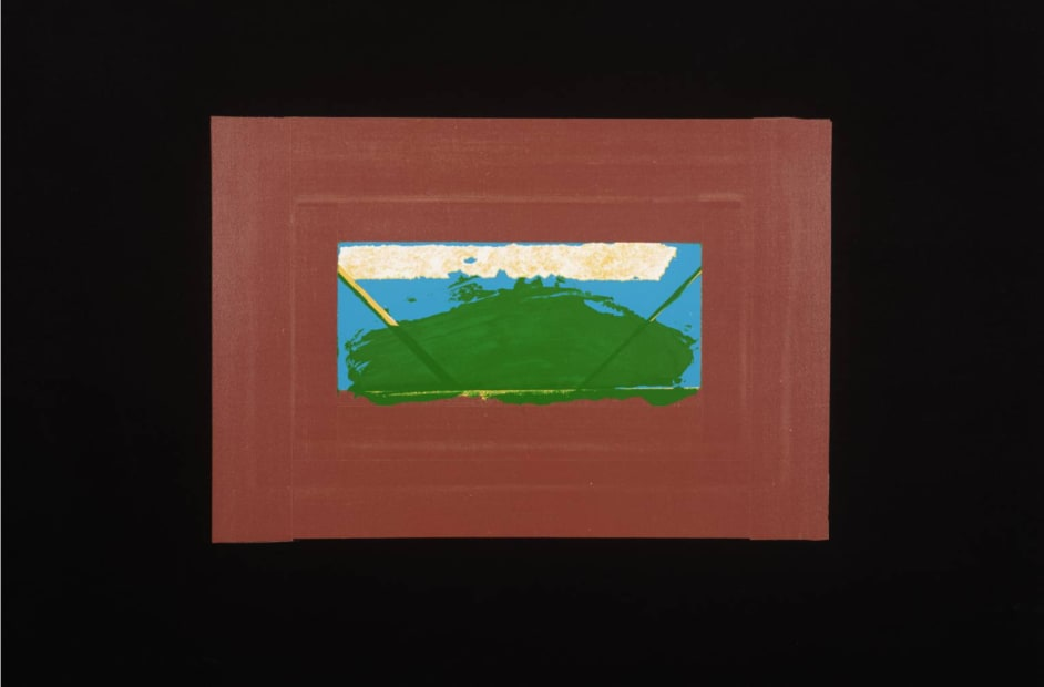 Howard Hodgkin CH CBE, Indian View G, 1971