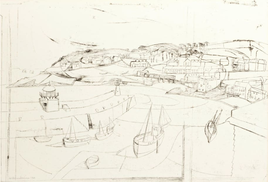 Wilhelmina Barns-Graham CBE, St Ives, 1950