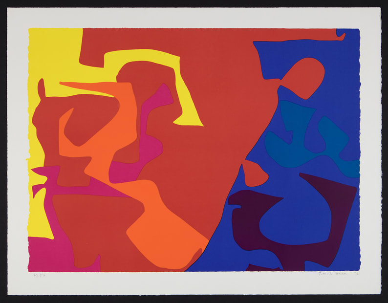 Patrick Heron CBE, January 1973 : 5, 1973