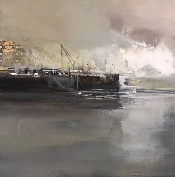 Jenny Hirst, Harbour Wall, 2021