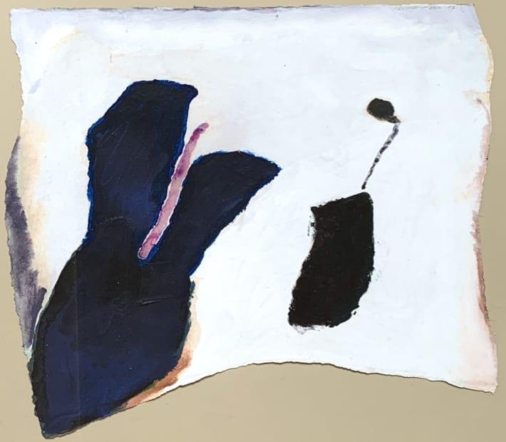 Trevor Bell RA, Orchid, 1997