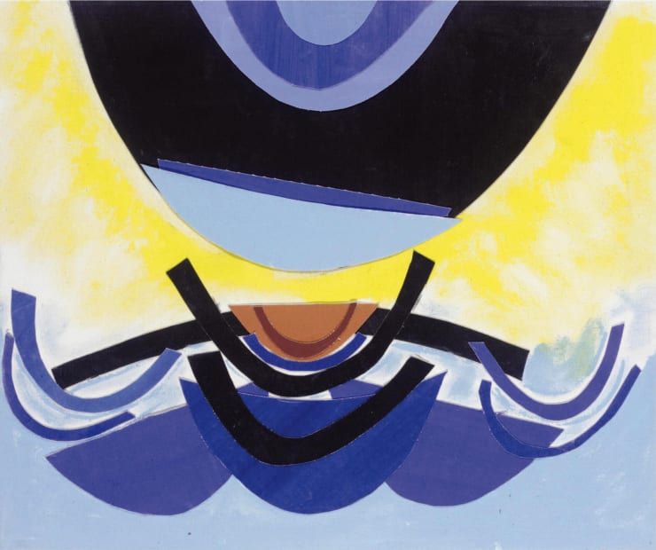 Terry Frost RA, Newlyn Quay Rhythm, 2002